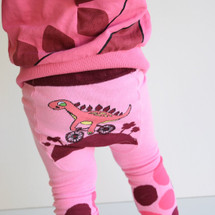 Pink Dino Leggings