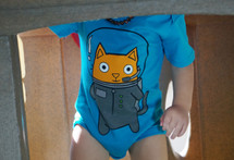 Astro Cat Bodysuit