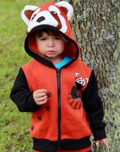 Red Panda 3D Hoodie