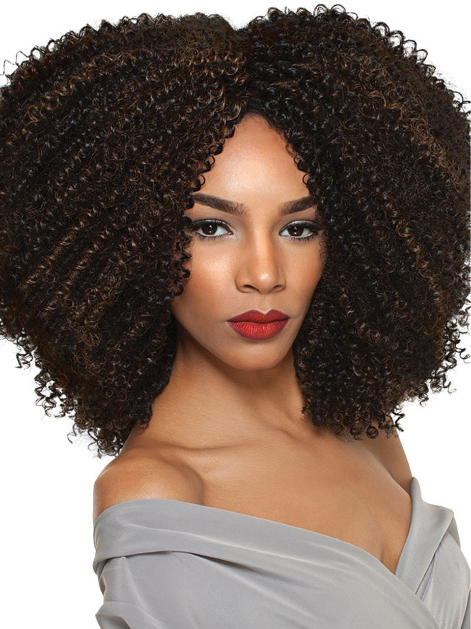 4A Kinky Human Hair Wig