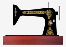 Singer 66 Class Decals for Restorations Celtic Variation  SingerDecals.com