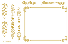 Singer 24-62 Sewing Machine Restoration Decals  SingerDecals.com