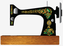 Singer 27/127 Restoration Pheasant Decals