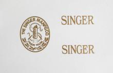 Singer 20 Toy Sewing Machine Restoration Decals  SingerDecals.com