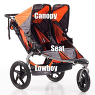 BOB Seat RevSE Dual Orange 2011-2015