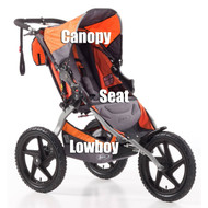 BOB Canopy SUS/Sgl Orange 2011-2015  sc 1 st  BOB parts & BOB Stroller Canopy Parts