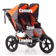 BOB Canopy SUS/Dual Orange 2011-2015