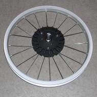 "Wheel, DLX Iron 07, Rear Alum 16"" 2005-2015"