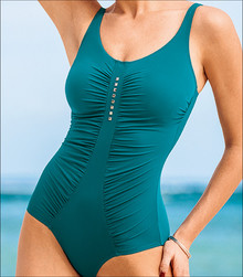 AN7353 Salomea Petrol One Piece Suit by Anita