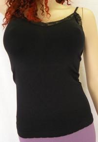LV729 Basic Camisole Black