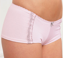 RY818 Short Pantie by Royce pink
