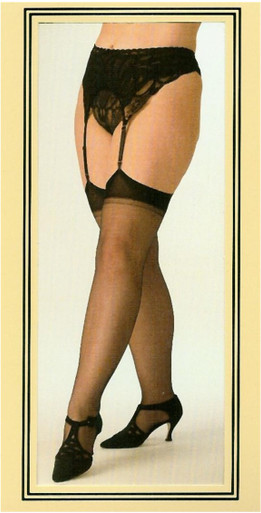 SHX5075 Sheer Nylon Stockings by Shirley Of Hollywood