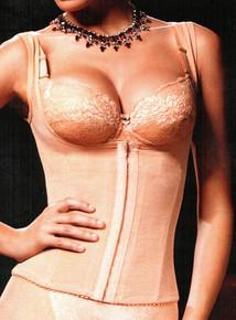 SM6026 She's Mine Apricot Shaping Vest