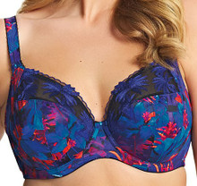 EL4130 Tropical Moonlit Underwire Plunge Bra by Elomi