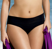 AN8708 Romi Black Adjustable Swim Bottom by Anita