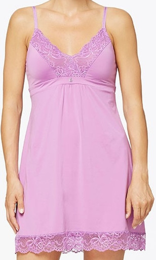 MN9194 Fashion Lace Chemise by Montelle - Blooming Orchid