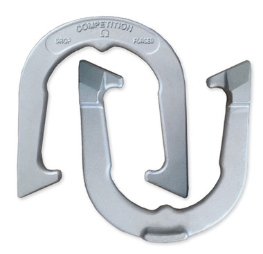 Silver Competition Horseshoes