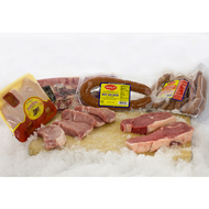 subcategory display for Meat Packages