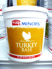 Minor's Turkey Base (16 Oz.)