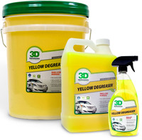 3D Yellow Degreaser Tyre & Rim
