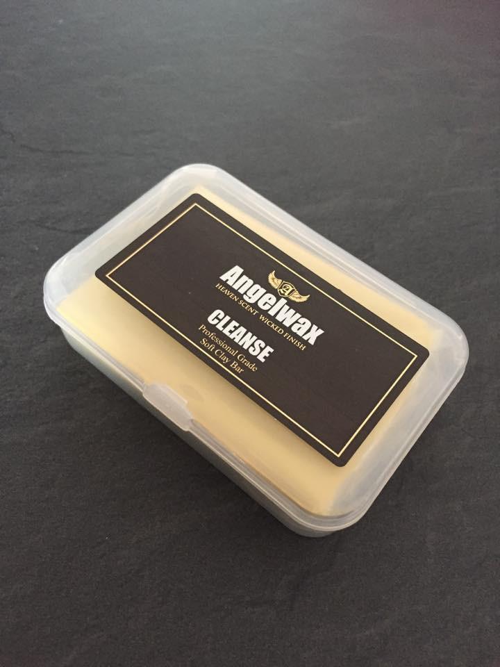 Angelwax Cleanse Clay Bar Fine 100 Gram Yellow Detail