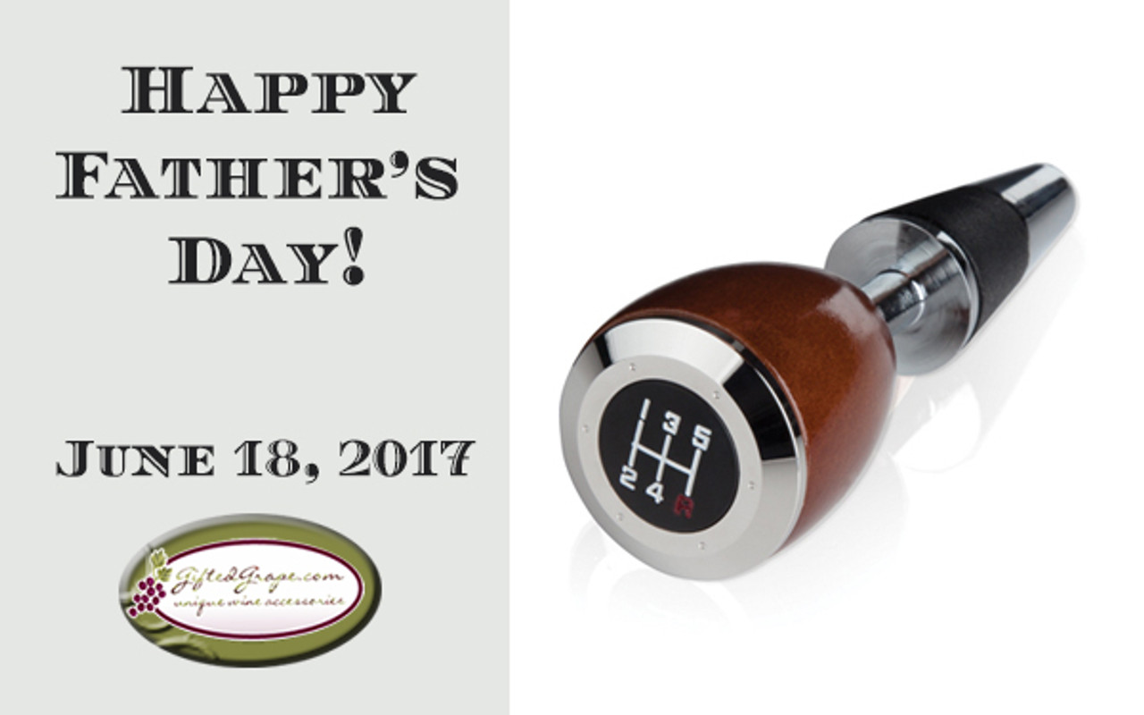 Shop for wine accessories that Dad will love!