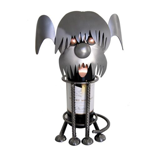 Shaggy Dog Wine Bottle Holder