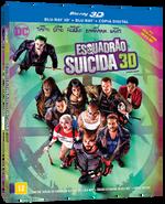 Esquadrão Suicida - Blu-Ray 3D + 2 Discos Blu-Ray + Cópia Digital