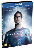 O Homem de Aço - Blu-Ray 3D + Blu-Ray + Cópia Digital
