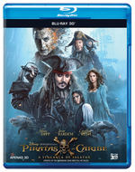 Piratas do Caribe - A Vingança De Salazar - Blu-Ray 3D