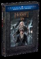 O Hobbit - A Batalha Dos Cinco Exércitos - Edição Estendida - 5 Discos - Blu-Ray 3D