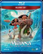 Moana - Um Mar de Aventuras - Blu-Ray 3D