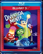 Divertida Mente - Blu-Ray 3D