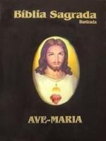 Bíblia Sagrada Ave Maria Grande Ilustrada Preta