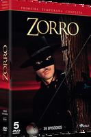Zorro - 1ª Temporada - 5 Discos