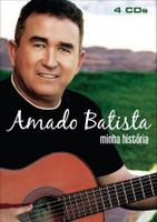 Amado Batista - Minha História - Box Com 4 CDs