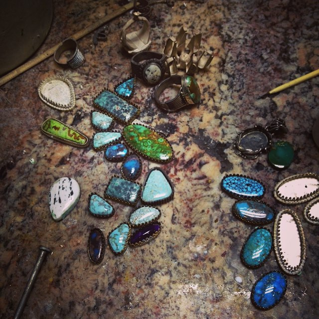 New Gemstone and TurquoiseJewelry in the works
