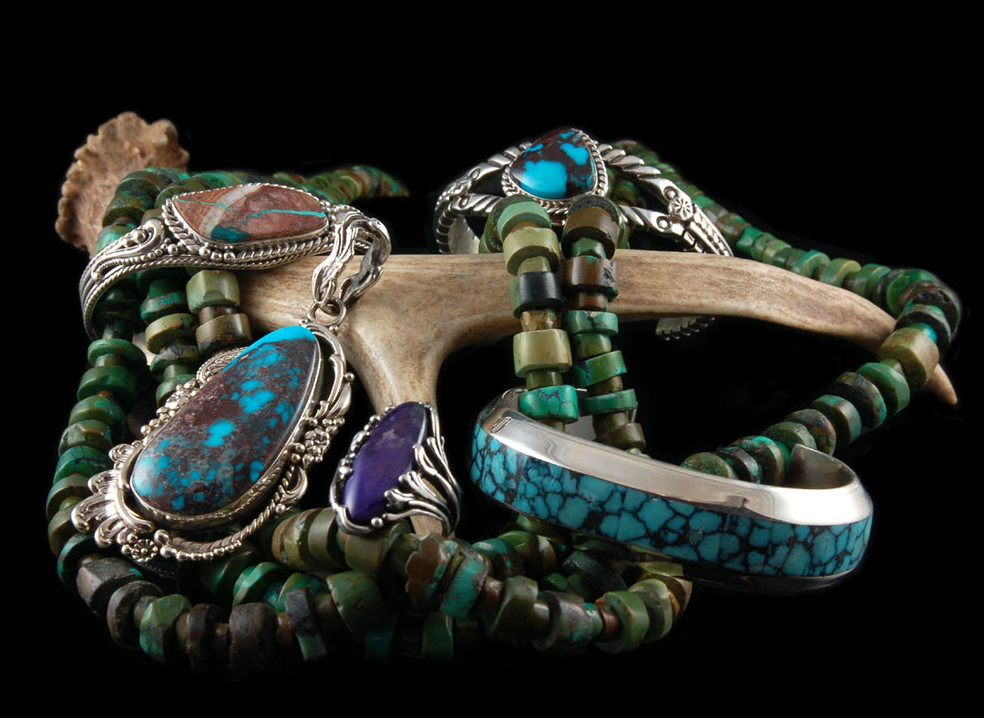 Southwestern turquoise jewelry durango silver company for Southwestern silver turquoise jewelry