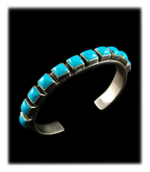Turquoise Cuff Bracelet for Summer