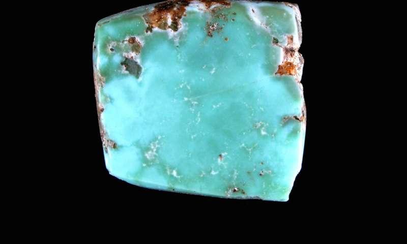 Canyon Creek Turquoise mine specimen
