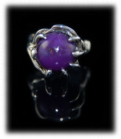 Art Nouveau Womens Sugilite Ring
