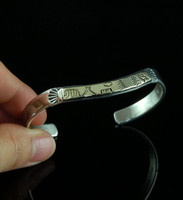 Silver and Gold Cuff Bracelet for Women