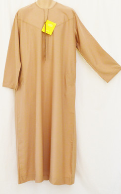 10 Brown Saudi Arabic  thobes
