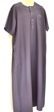 TAYBE Arabic Dress Long Top Shirt Thobe Dishdash Jubba Islam Muslim Mens Eid Boy