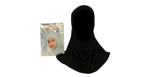Muslim Girls Childrens islamic hijab scarf one piece ihlas kids head bonnet turkish slip on school black …