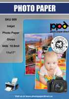 Inkjet Heavyweight Photo Paper Glossy 64lb. 240gsm 10.9mil 11 x 17""