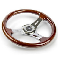 NRG Classic Wood Grain Wheel Chrome Center