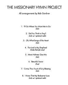 The Missionary Hymn Project - Downloadable Songbook