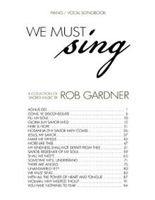 We Must Sing - Downloadable Songbook