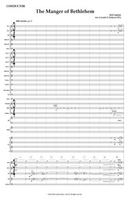The Manger of Bethlehem - Full Orchestral Score and Parts